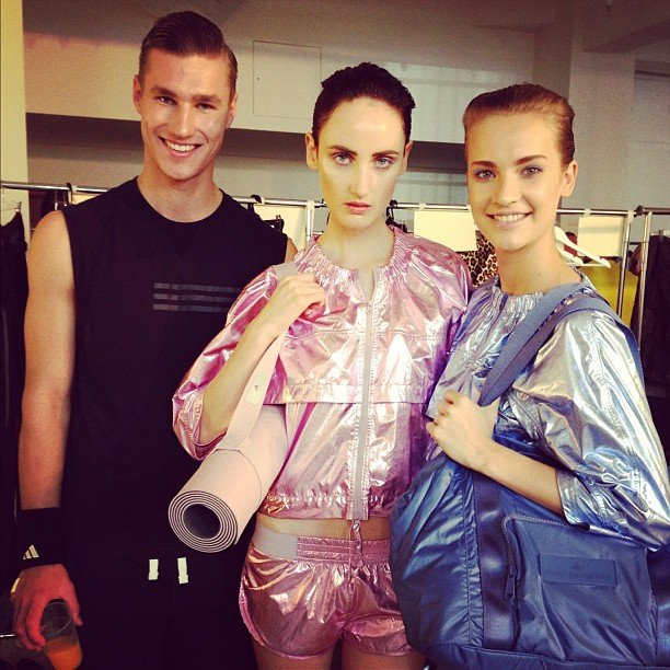 Want! The sexy sportswear from Adidas' A/W '13 collection had us feeling all exercisey.