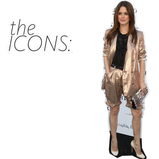The Icon Kit: Snap Up Rachel Bilson's High Shine Short Suit
