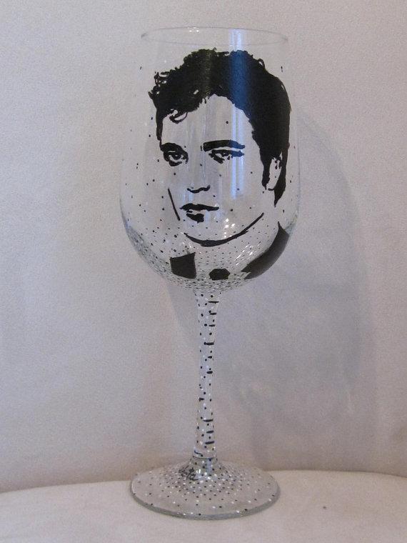 Robert Pattinson Wine Glass ($30)