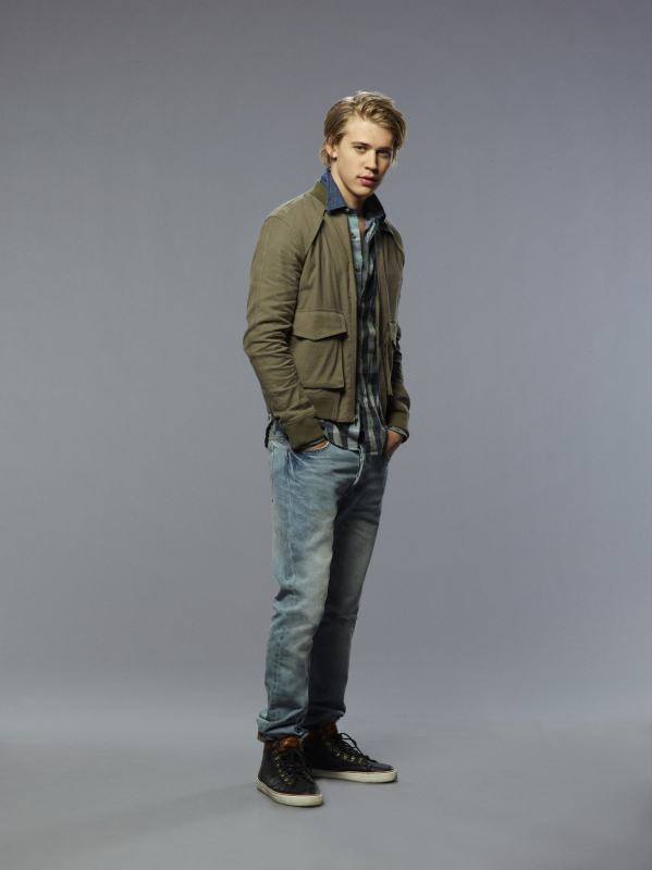 Austin Butler as Sebastian on The Carrie Diaries.