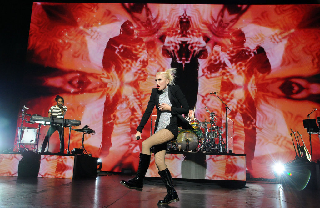 Gwen Stefani put on a high-energy show in LA.