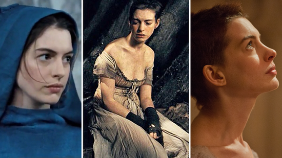 Video: Anne Hathaway's Les Mis Buzz Cut Gets Oscar Buzz!