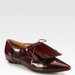 Combine on-trend fringe with the seasonal chic color of oxblood, and these Marc Jacobs oxford flats ($438, originally $625) are ready for any party setting.