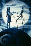 Sally and Jack in The Nightmare Before Christmas