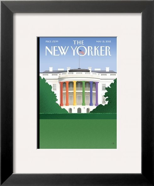 A Framed Magazine Cover