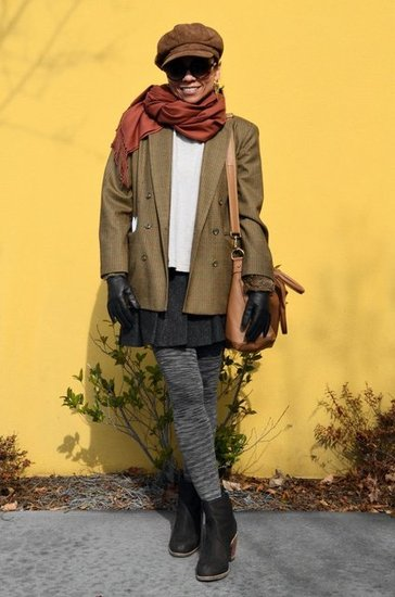 Earth Tones Outfit Street Style Look