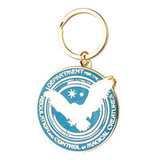 Harry Potter Department For the Regulation and Control of Magical Creatures Key Chain ($8)