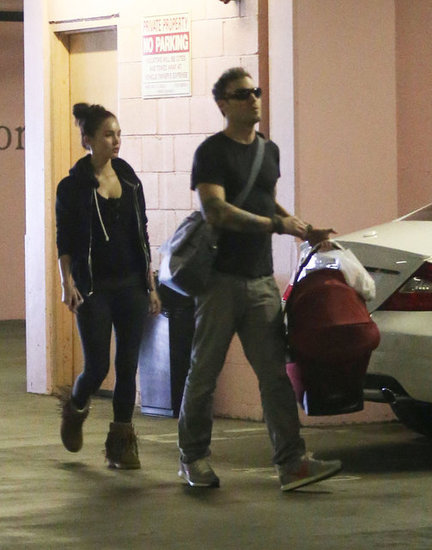 Megan Fox and Brian Austin Green Step Out With Baby Noah