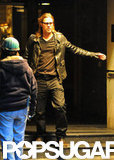Brad Pitt Talks Wedding Plans During NYC Visit