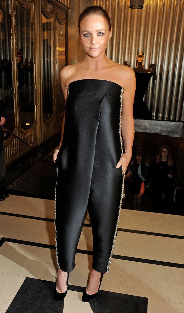 Stella McCartney struck a pose at the British Fashion Awards in London.