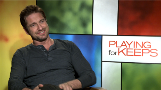 "Gerard Butler Was Willing to ""Beg"" Jessica Biel to Be in Playing For Keeps"