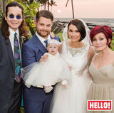 Jack Osbourne and Lisa Stelly were surrounded by family, including their daughter, Pearl, for their October wedding in Hawaii.