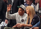 Jay-Z and Beyonce Knowles spent some time together in NYC.