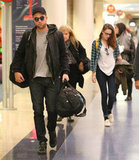 Robert Pattinson and Kristen Stewart arrived in LA.