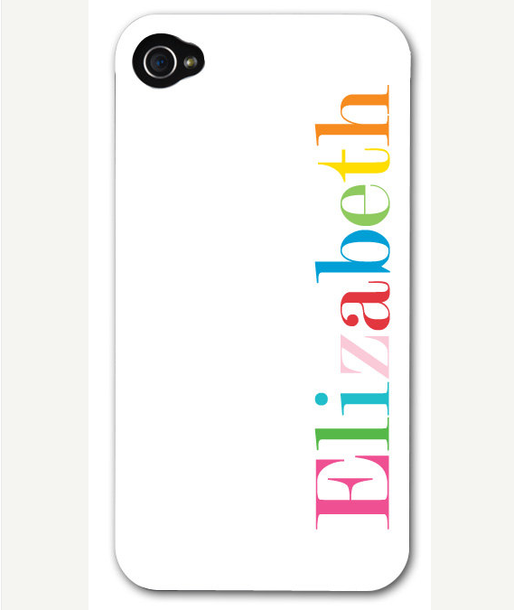Gift the tech-obsessed girl (or guy) in your life with this AModernStyle personalized iPhone case ($30). We adore the multicolored text.
