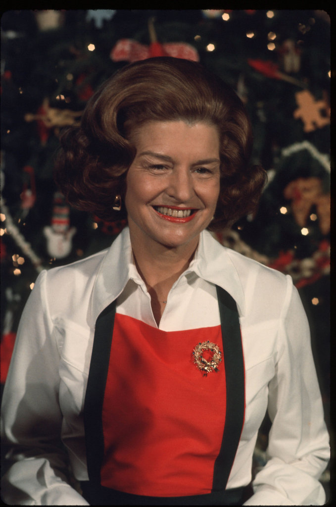 Betty Ford, 1975