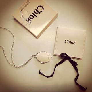 Chloe Bianca Solid Perfume Locket