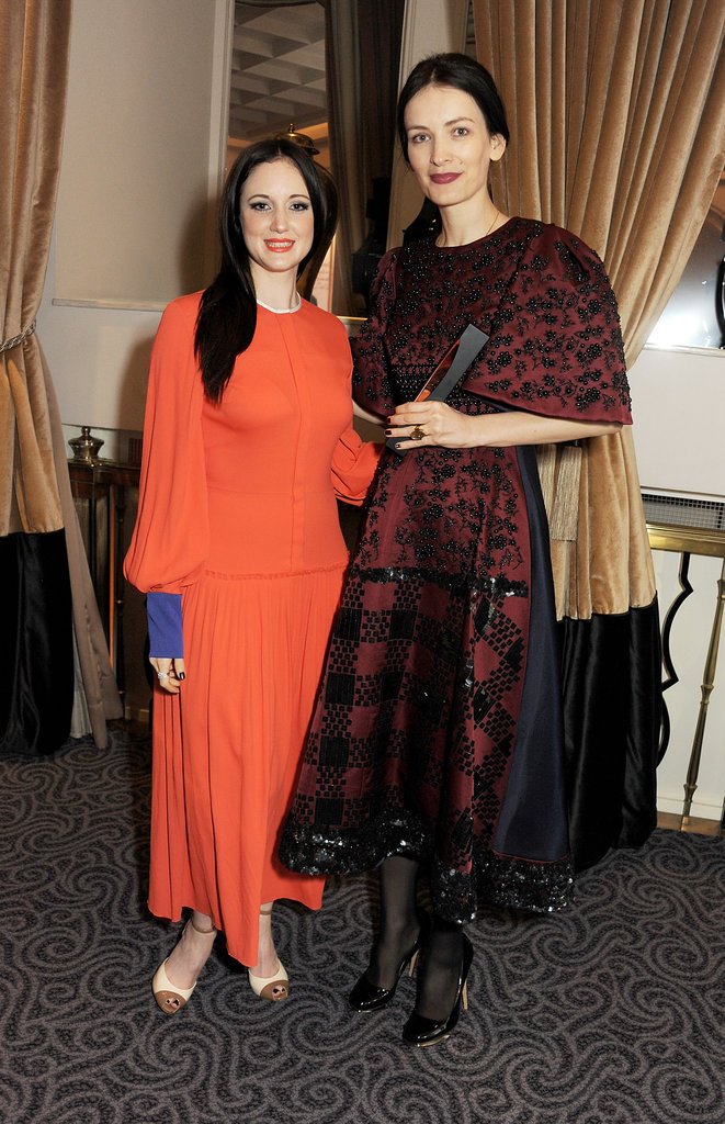 Andrea Riseborough and Roksanda Ilincic