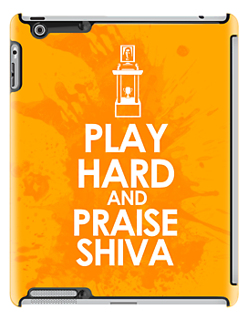 The League Play Hard and Praise Shiva iPad Case ($64)