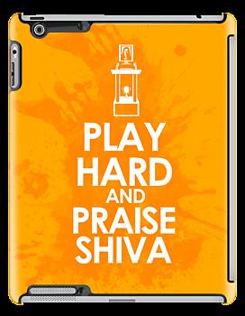The League Play Hard and Praise Shiva iPad Case ($64)