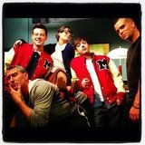 Old-school Glee. Source: Instagram user adamshankman