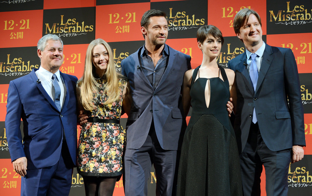 The cast of Les Mis popped up in Japan.