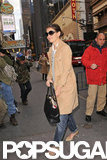 Katie Holmes Is All Smiles on the Eve of Her Broadway Debut