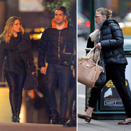 Scarlett Johansson Hits the Town With Her New French Boyfriend
