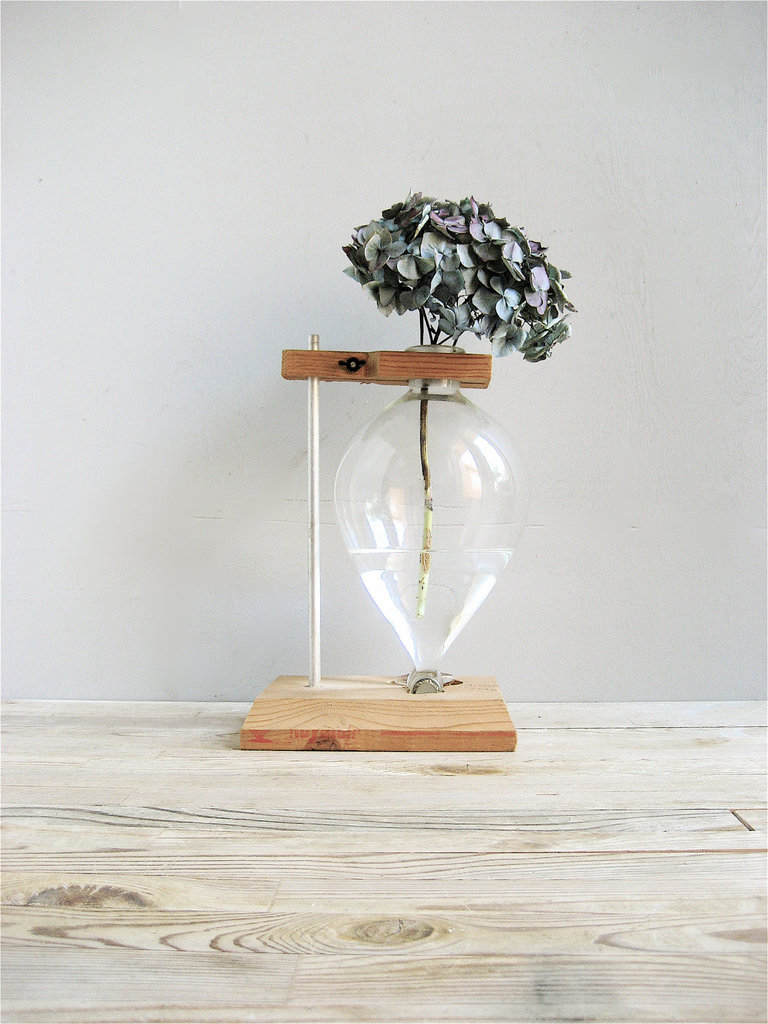 Vintage Lab Beaker With Stand