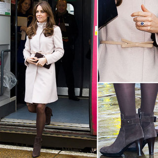 Kate Middleton in Max Mara Coat 2012 | Pictures
