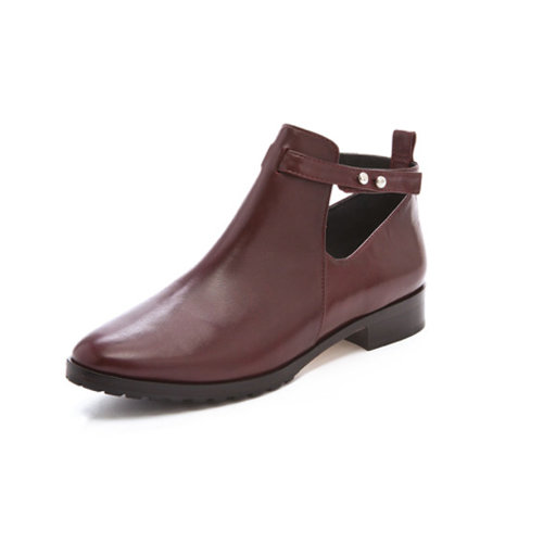 For a low-key appeal, pair these Elizabeth and James Pine Cutout Booties ($245, originally $350) with cropped wool trousers and an oversize knit sweater for a warm, wintry appeal.