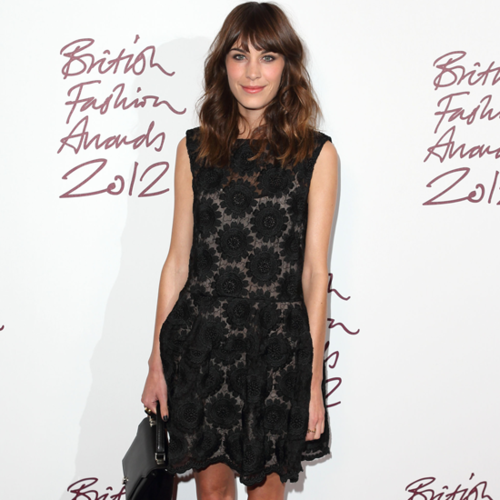 Alexa Chung at the British Fashion Awards 2012 | Video