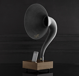 Old school meets new school in this unique iPhone Gramophone ($249). Give the gift of amplified music and style thanks to this sleek iconic speakerphone.