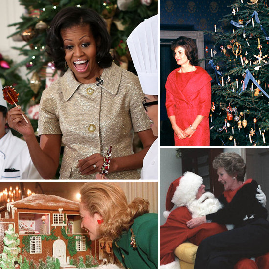 First Ladies Celebrate White House Holiday Traditions