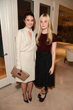 Mary Elizabeth Winstead and Elle Fanning were out in LA for the  Variety Studio.