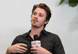 Garrett Hedlund spoke at the Variety Studio in LA.