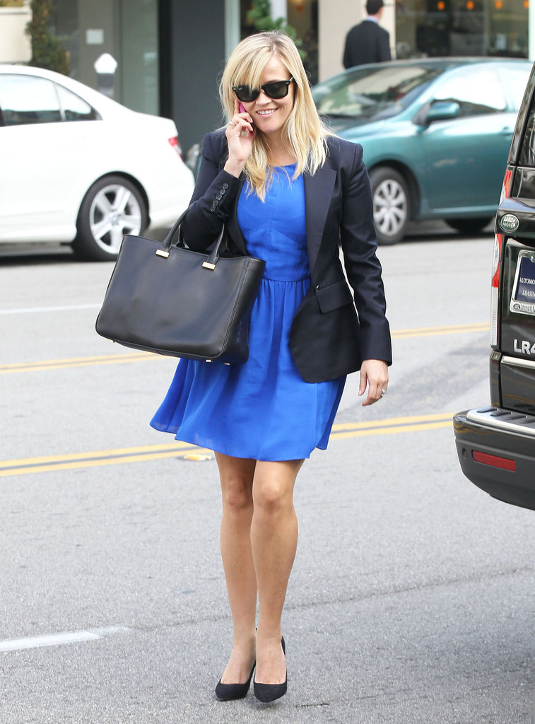 Reese Witherspoon valeted her car.