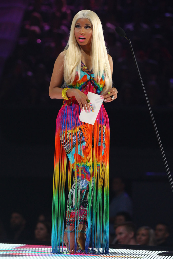 Nicki Minaj was a presenter for the Aria Awards in Sydney.