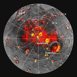 NASA Announces Ice on Mercury