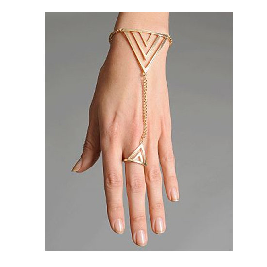 Hand chain, approx $18 Daughter of David at Bank Fashion