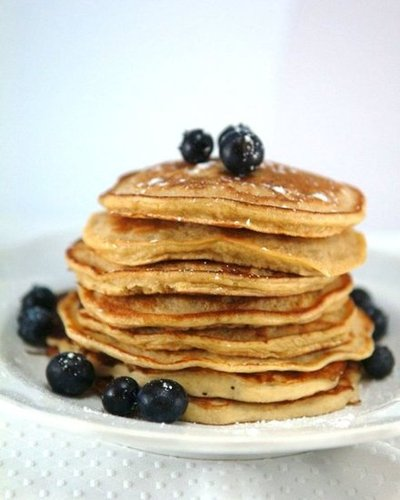 Homemade Fluffy Whole Grain Pancake Mix