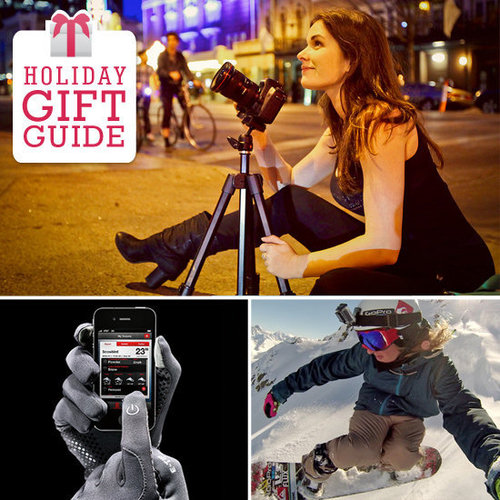 You may have heard of a little app called Camera+, a tool for iPhone and iPad with advanced image editors that make mobile photographers go gaga, and Geek caught up with the app's founder, Lisa Bettany, to get her holiday gift picks.