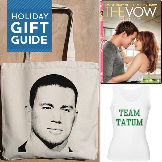 Step up your gift-giving this year with this season's best present . . . the sexiest man alive. Yes, Buzz is helping you give the Channing Tatum fan a little eye candy and a present they will surely appreciate.