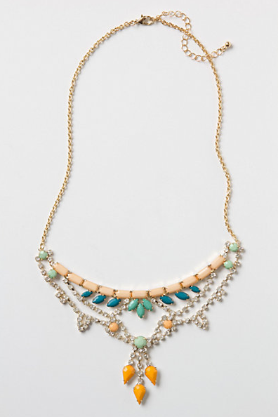 I love how sweet and colorful this Noronha Bib Necklace ($58) is. It has the personality of a great little treasure you might find at the flea market, something you'll mix and match and layer up with your other necklaces — it's just so pretty. — Hannah Weil, associate editor