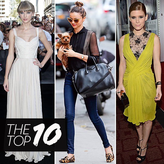 This Week's Top 10 Take On Everything From Street Chic to Utmost Glam