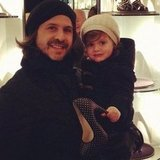Rodger and Skyler Berman picked out a shoe for Rachel Zoe. Source: Instagram user rachelzoe