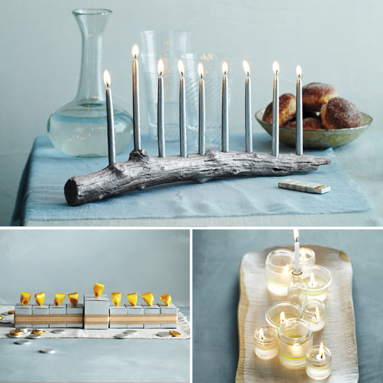 diy menorahs from martha stewart popsugar moms