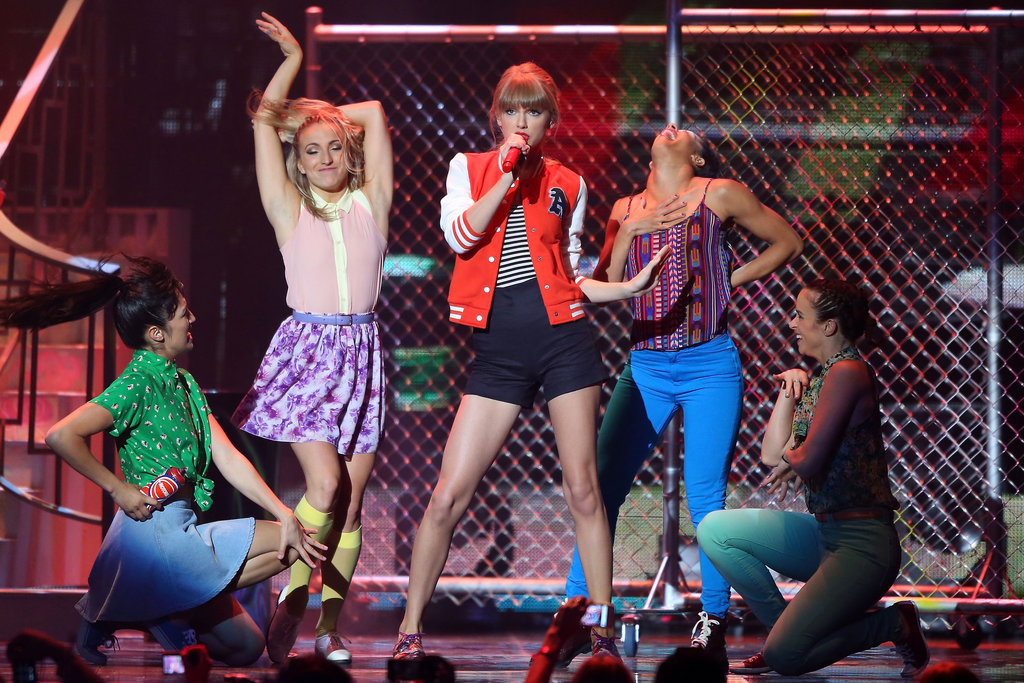 "Taylor performed her new hit ""I Knew You Were Trouble"" at the ARIAs."