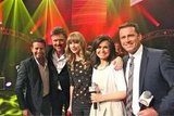 Taylor Swift performed on Today on Monday. Source: Twitter user thetodayshow