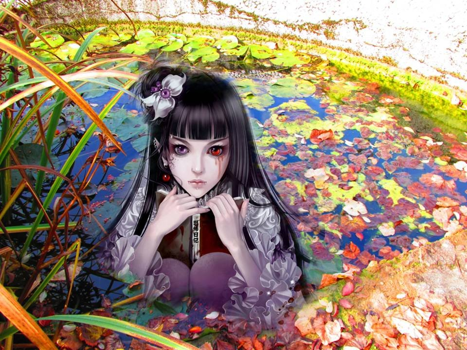 Little Vampire in the Pond